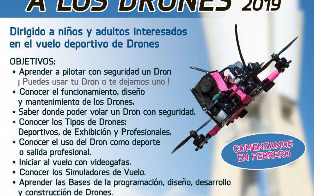 CURSO DE INICIACION A LOS DRONES 2019