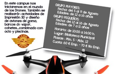 CAMPUS LEON RACING DRON